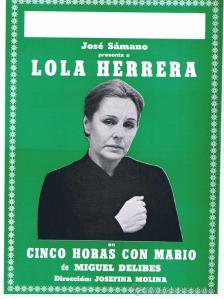Cinco horas con Mario Lola Herrera
